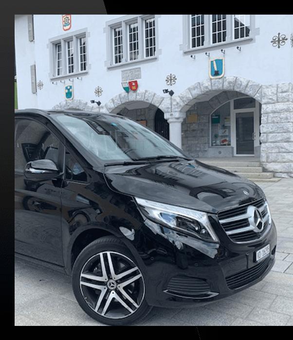 Fourgon mercedes Service de Limousine Lausanne